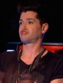 Face off! Are Jessie J and Danny O'Donoghue in a competition to pull the stupidest face on The Voice?