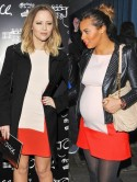 SNAP! Kimberley Walsh wears same Zara dress as pregnant Rochelle Wiseman on night out
