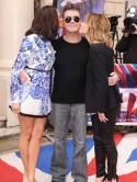 Simon Cowell slags off The Voice at the Britain's Got Talent launch - tee hee! 