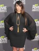 STYLE SHOCK! Pregnant Kim Kardashian gets it right in sexy LBD at MTV Movie Awards
