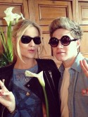 One Direction's Niall Horan flirts with Laura Whitmore after having 'weird dream' about her