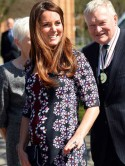 Pregnant Kate Middleton finally gets her bump out and I know where to get the perfect lookalike dresses!