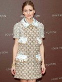 Olivia Palermo wears Zara heels to swanky Louis Vuitton fashion event