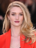 Get the look: Rosie Huntington-Whiteley's glossy locks