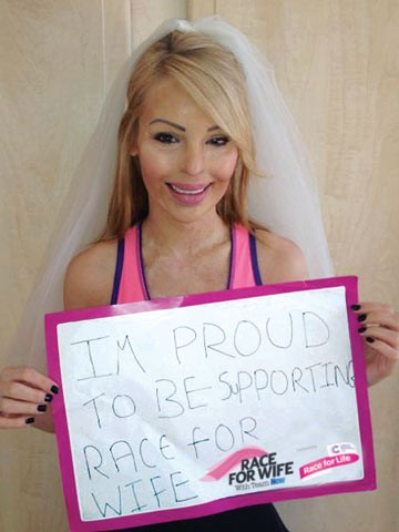 Latest On Katie Piper http://www.nowmagazine.co.uk/celebrity-news/544393/join-our-race-for-wife-team