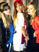 Watch out, Rita Ora! Georgia May Jagger steals Cara Delevingne for Rihanna gig 