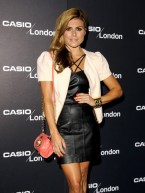 TV stars dress up to party at Casio birthday bash in London