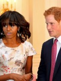 Michelle Obama makes Prince Harry her special guest at White House event for military wives