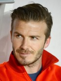Football style icon David Beckham's hot hair looks