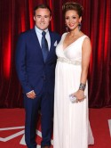 Lucy-Jo Hudson 'very proud wifey' after Alan Halsall wins Best Actor at British Soap Awards