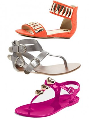 Top 10 flat sandals - hot new summer shoes