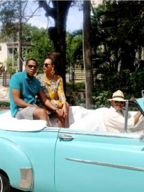 See Beyonce Knowles and Jay-Z's intimate Cuba pictures