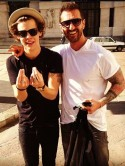 Nick Grimshaw, watch out! Harry Styles strikes up new bromance while on tour with One Direction in Italy