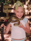 OMG! Wild model Cara Delevingne strangled by snake!