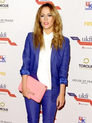 Caroline Flack leads stars rocking sexy suits at style awards in London