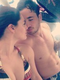 Kelly Brook shows off hot bikini body in sexy holiday snaps with boyfriend Danny Cipriani