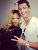 OMG! Rihanna gets together with Cristiano Ronaldo