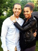 Cute! Marvin Humes takes Rochelle Wiseman on first night out since welcoming baby girl