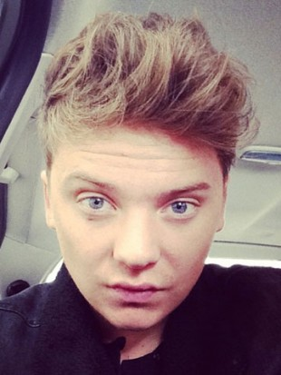 Conor Maynard shows off sexy new 'tamed' quiff on Twitter