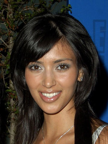 Kim kardashian changing face celebrity pictures photos news