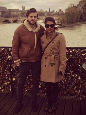 His and hers! The Saturdays' Vanessa White gets matching ...