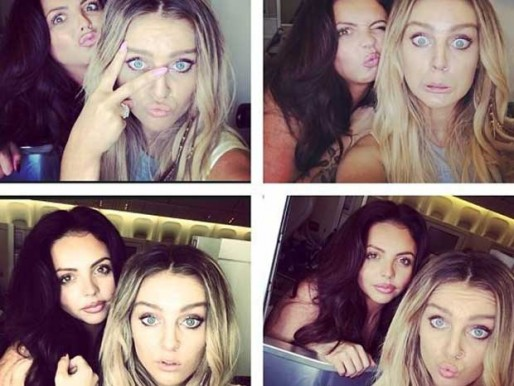 Jesy Nelson And Perrie Edwards Zayn Malik's girl Perr...