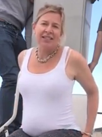 Katie hopkins revealed her new heavier figure for the first time when