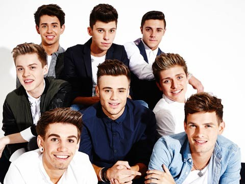 X Factor stage invasion: Stereo Kicks James wanted to