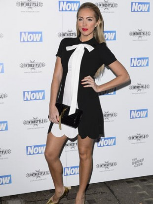 EXACT MATCH! Aisleyne Horgan-Wallace does demure in Geordie Shore star Vicky Pattison's fashion range